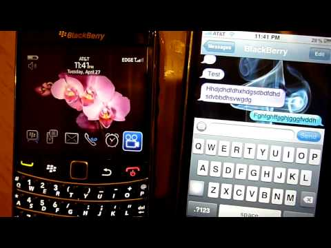 BlackBerry Messenger  For iPhone Free Subscribe