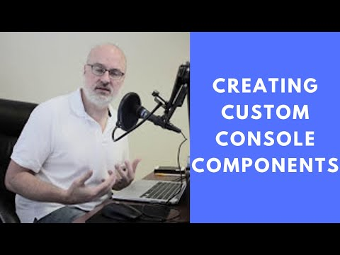 Creating Custom Console Components in the Salesforce Service Console