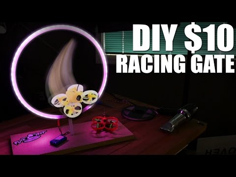 DIY $10 Drone Racing Gates   Flite Test