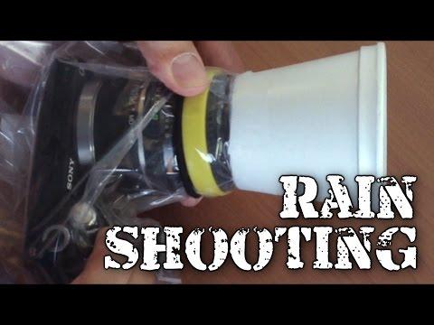 Shooting in the Rain (and DIY camera rain bag)