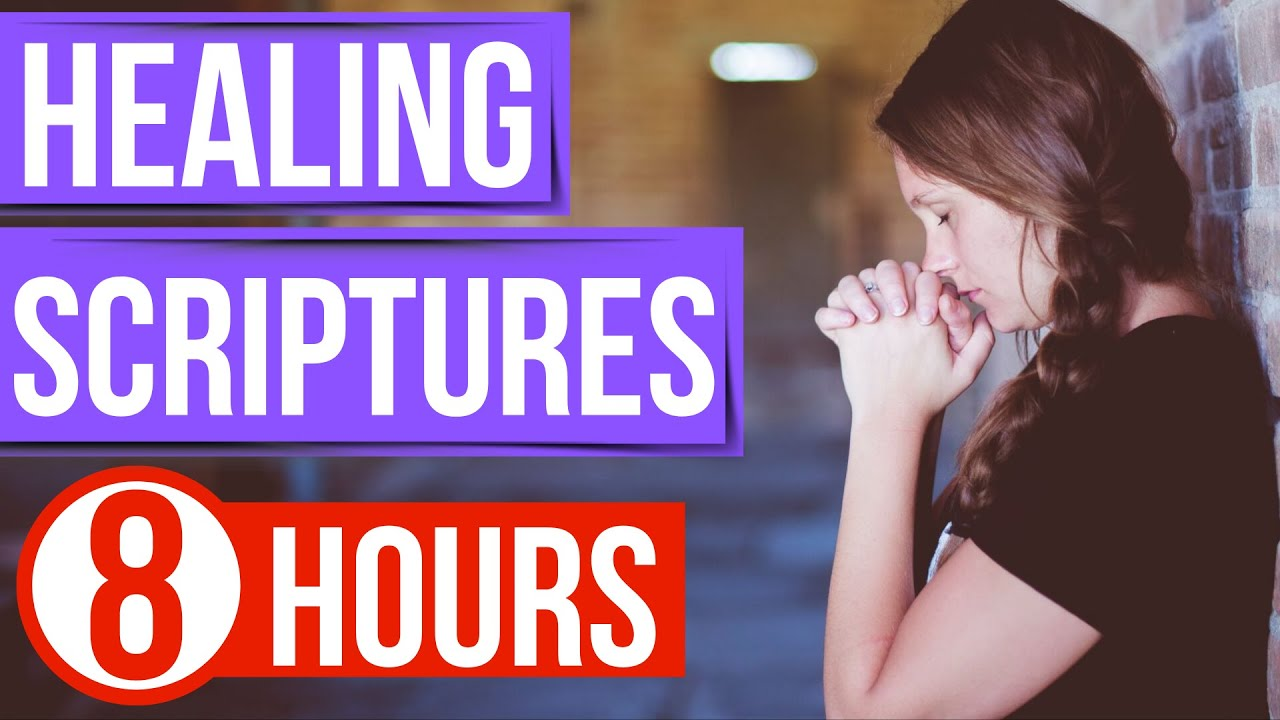 Healing Scriptures (Bible verses for sleep with God's Word ON) Peaceful Scriptures