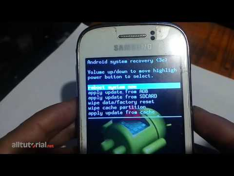 Cara Hard Reset Samsung Galaxy Young GT S6310