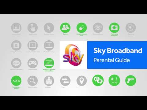 Sky Broadband Shield parental controls step-by-step guide | Internet Matters