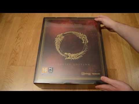 Unboxing The Elder Scrolls Online - Imperial Edition