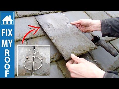 Replace a Slate - Hall Hook Method