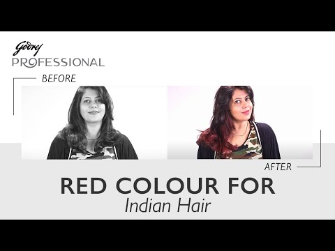 How To: Get A Vibrant Red Hair Colour For Indian Hair