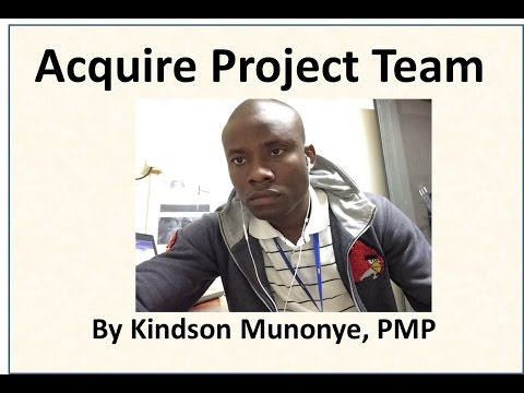 28 Project Human Resource Management Acquire Project Team