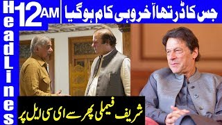 All Sharif Family Names Put Back In Ecl | Headlines 12 Am | 14 April 2019 | Dunya News
