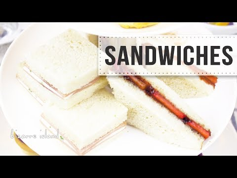 Easy 5 min Tea Sandwiches 2 ways | d for delicious