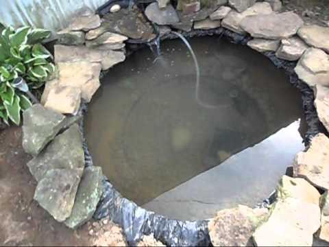 Redneck fish pond