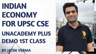 Unacademy Plus Demo 1st Class - Jatin Verma