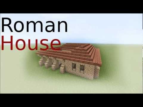 Minecraft Roman House tutorial