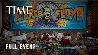 George Floyd's Brother Visits Site Of Makeshift Memorial In Minneapolis | TIME