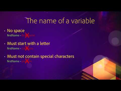 03 Variables and data types ## 01 Understanding ColdFusion variables