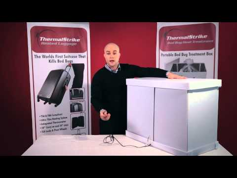 ThermalStrike Expedition Bed Bug Heat Treatment Box Overview