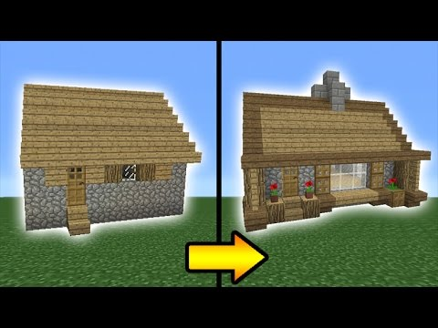 Minecraft Tutorial: How to Transform a Villager House