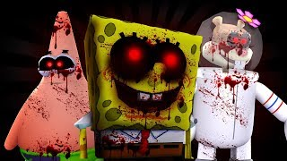 RETURNING TO THE PORTAL TO SPONGEBOB.EXE! Minecraft Little Kelly