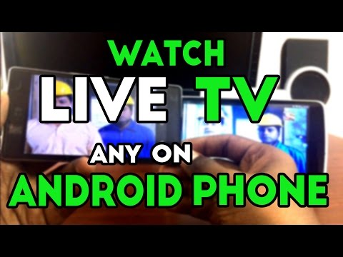 How to watch live tv on android phone for free