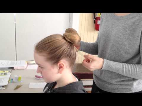 Ballet Bun-Thick Hair