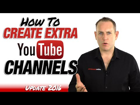 How To Add A YouTube Channel to your YouTube Account - Update 2016