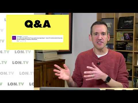 Q&A: What TV do i test input lag on?