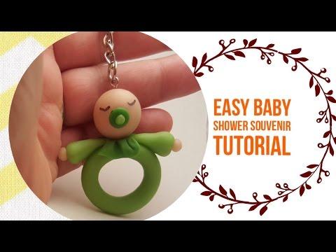 Easy Baby Shower Souvenir DIY - Clay Idea