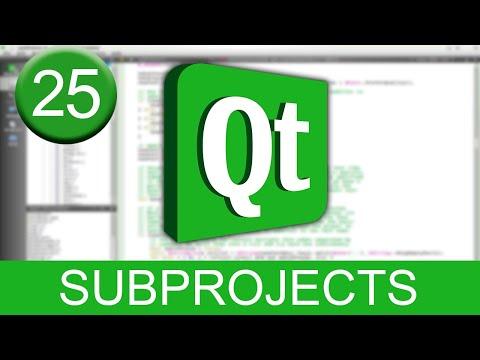 Tutorial Qt Creator - Sub-proyectos