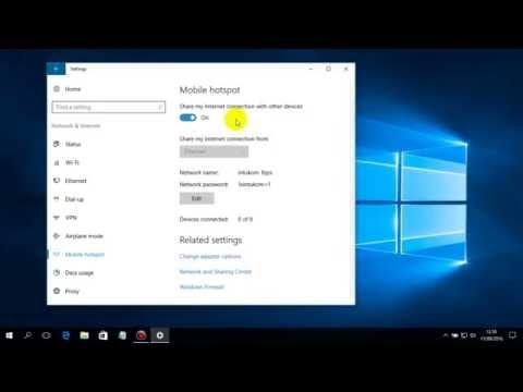 Cara mengaktifkan Mobile Hotspot di Windows 10