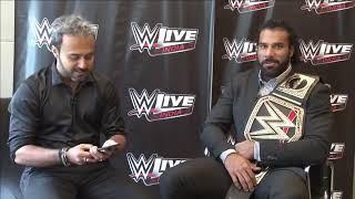 Jinder Mahal Facebook Live interview from Mumbai, India | WWE | WWE INDIA | WWE LIVE INDIA 2017