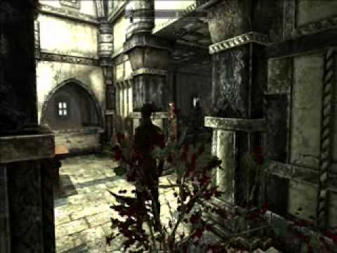 Xbox 360 Skyrim Mod Dawnguard Hearthfire Play as Cicero, Modded New Game Save