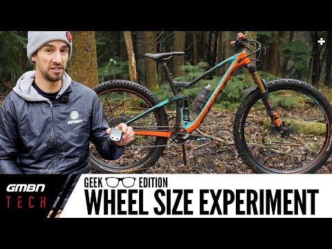 MTB Wheel Size Experiment | 29er Front & 27.5+ Rear Geek Edition