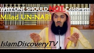 The reason NOT to celebrate Mawlid Un Nabi ᴴᴰ┇Must Watch┇- Mufti Ismail Menk