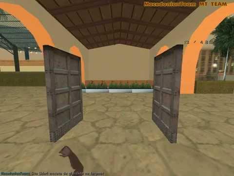GTA San Andreas How To Open A Door!!