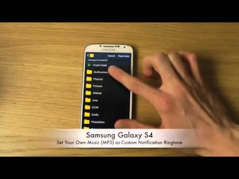 Samsung Galaxy S4   Set Your Own Music MP3) as Custom Notification Ringtone