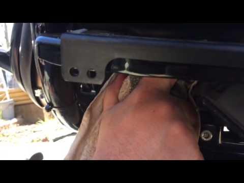 Street 750 Harley Davidson oil change
