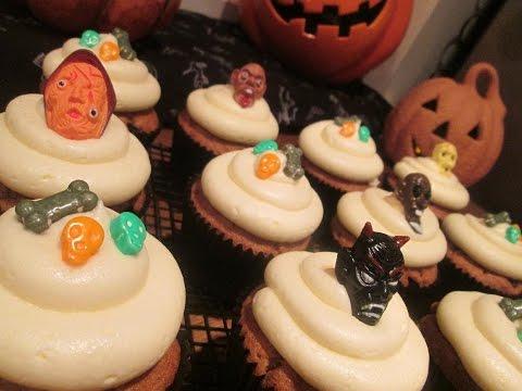 Pumpkin Cupcakes  ...( how to make)