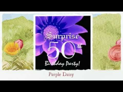 Floral Surprise Birthday Invites from www.zazzle.com/jaclinart*