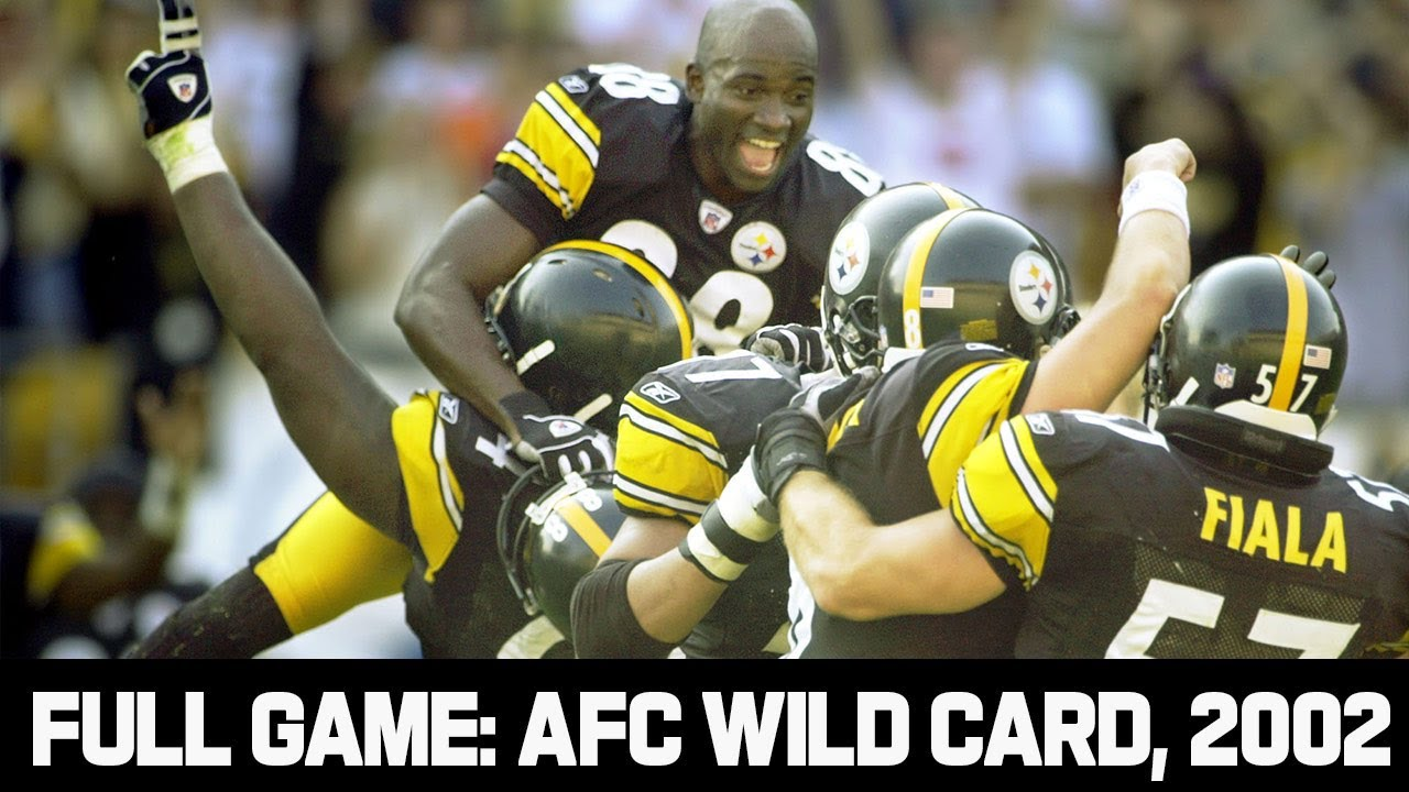 Pittsburgh 17 Point Playoff Comeback! Steelers vs. Browns 2002 AFC Wild Card Full Game