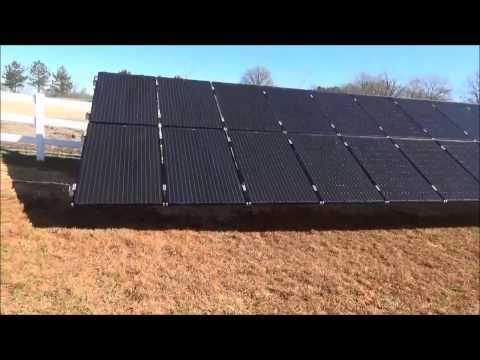 8100 Watt Solar Power System