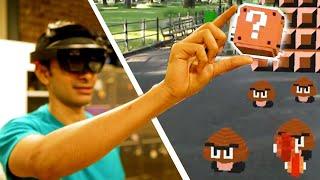 I Created A Super Mario Augmented Reality Game