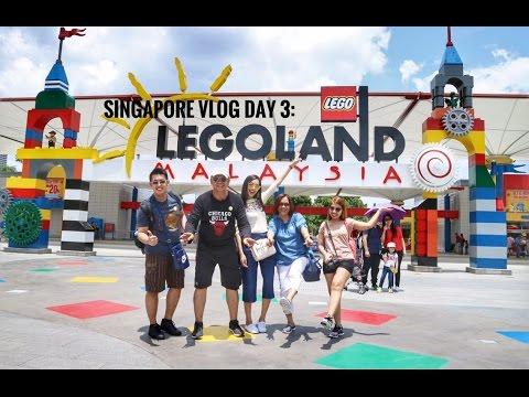Singapore Vlog Day 3: Legoland Malaysia!!