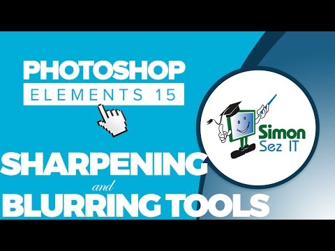 How to Sharpen & Blur a Photo Using Photoshop Elements 15