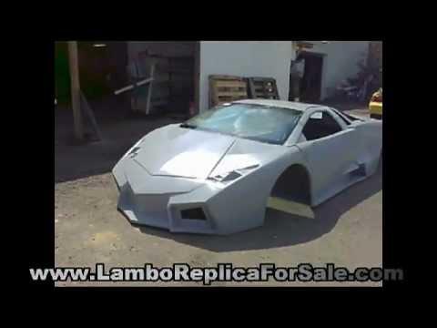Lamborghini Reventon Roadster Replica Kit Car Project Video 1