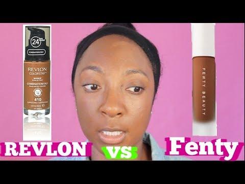 Fenty Beauty Foundation vs Revlon Foundation- Is it Worth It??