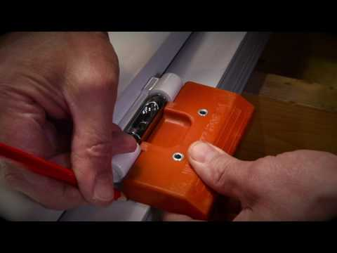 How to fit the Trojan Athena Door Hinge
