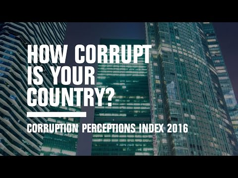 Corruption Perceptions Index 2016 | Transparency International