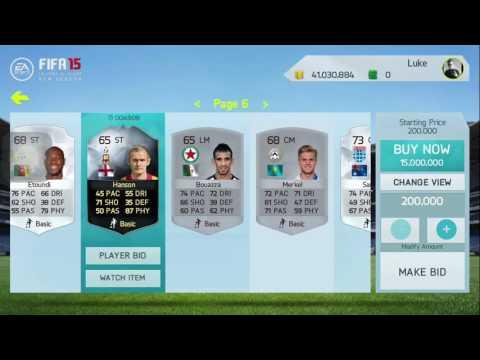 MAKE MILLIONS OF COINS AN HOUR!!! | FIFA 15 IOS/ANDROID HOW TO MAKE MILLIONS OF COINS!!!
