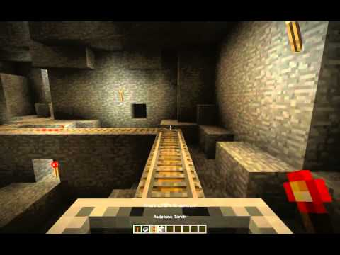 Minecraft - Activate the activator rail within a moving minecart