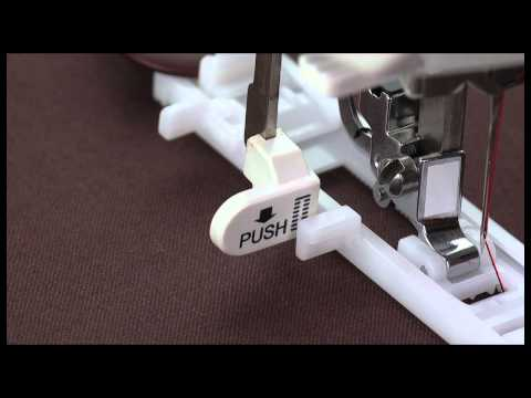 SINGER® 1-Step Computerized Buttonhole Presser Foot w/Spring Tutorial