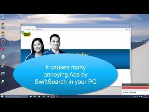 SwiftSearch Ads. Free removal solution.